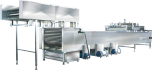 Linear Moulding Ice-cream Machine